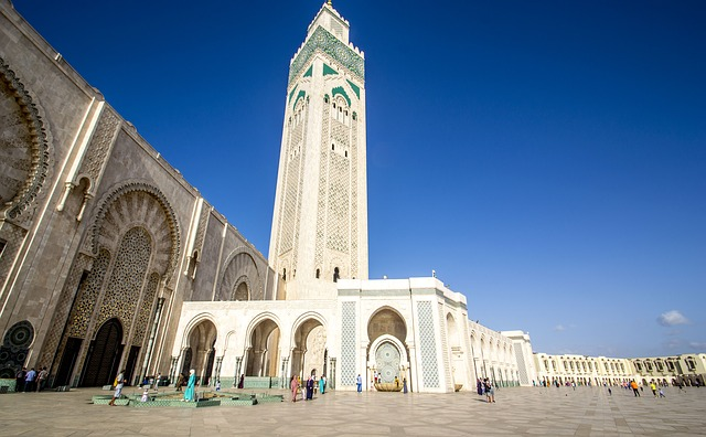 kazablanka maroko dzamija